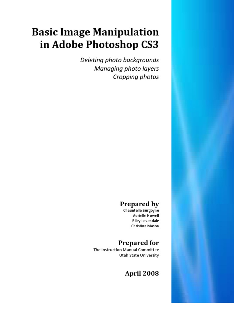 photoshop cs3 tutorial photo manipulation adobe photoshop rh scribd com Adobe Photoshop CS5 Photoshop CS2