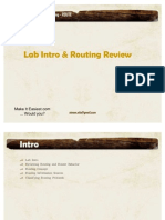 02-Lab and Routing Intro MIE