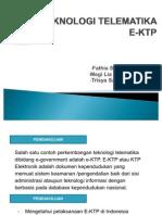 Teknologi Telematika E-ktp