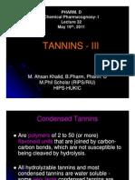 Lecture 32 - Condensed Tannins [Compatibility Mode]
