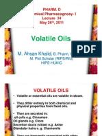 Lecture 34 - Volatile Oils [Compatibility Mode]
