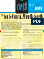 Contending Earnestly for the Faith - July 2011