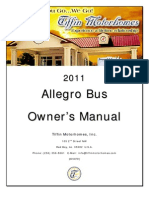 2011 Allegro Bus Owners Manual