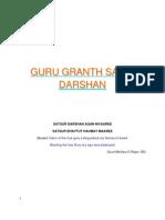 Guru Granth Sahib Darshan-English