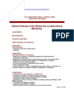 Indian Model Agricultural Produce Markets Act