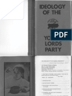 Ideology of the Young Lords Party - February 1972