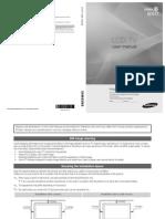 Manual de Usuario LCD Samsung LN55C650