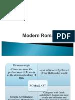 Modern Roman Arts