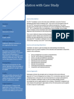 ITIL Foundation Fact Sheet