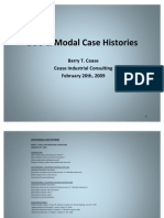 ODS & Modal Case Histories 022009