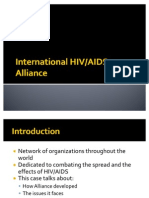 International HIV