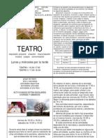 PropuestaGrupo de Teatro y Otras Actividades