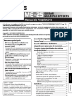 Boss ME-25 Manual Portugues