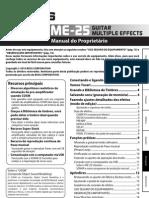 Boss ME-25 Manual Portugues