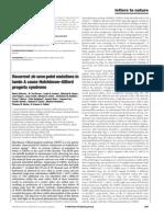 Recurrent de novo point mutations in lamin A cause Hutchinson–Gilford progeria syndrome