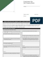 Blank CT41G Form