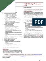 Xilinx XC9500XL Datasheet