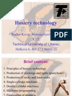 Hosiery Technology