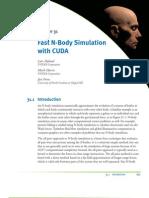 Fast N-Body Simulation Uisng CUDA