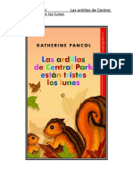 Katherine Pancol - Las Ardillas de Central Park Estan Tristes Los Lunes TUSLIBROSGRATIS