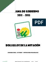 Programa_IULV-CA_Bollullos de la Mitación_Elecciones Municipales 2011