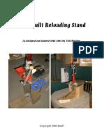 33772787 Homebuilt Reloading Stand by Erik Prestmo