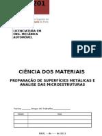 TL2 LEMA Preparacao de Superficies Metalicas e Analise de Microestruturas