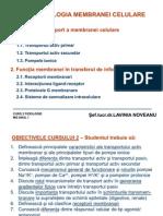 Curs 2 Membrana Celulara 2010