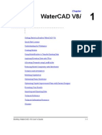 WaterCAD V8i User's Guide