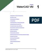 WaterCAD V8i User's Guide