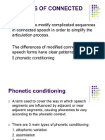 Features of Connected Speech