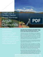 Argyle Diamonds Case Study FINAL
