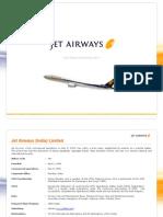 Jet Airways Factsheet