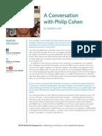 Philip Cohen Interview