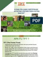 Tantangan Dan Peluang Sertifikasi Hutan Rakyat