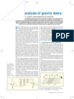 3-D Analysis of Gravity Dams