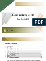 Slides - Design Guideline for HDI (MULTEK)