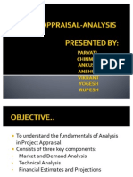 Project Appraisal Analysis1
