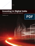 Investing in Digital India- The Dynamics of Mandatory Address Able Digitization