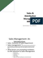 Sales %26 Distribution Management-MR 412