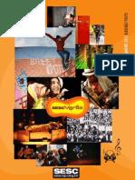 Programação SESC Ribeirão janeiro 2012