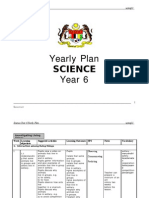 Science Year 6 Yearly Plan