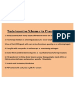 Trade Incentive Schemes for Channel Partners