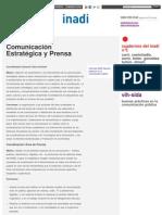 INADI COMUNICACION - Comunicación Estratégica y Prensa _ Inadi