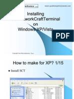 Install SCT on WinXP-Vista