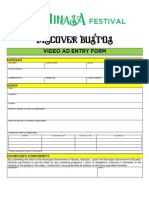 Video Ad Entry Form 2012