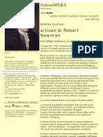 Italian Opera_ Andrea Luchesi - Articoli Di Robert Newman