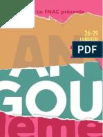 Avance Programación Festival Angoulême 2012