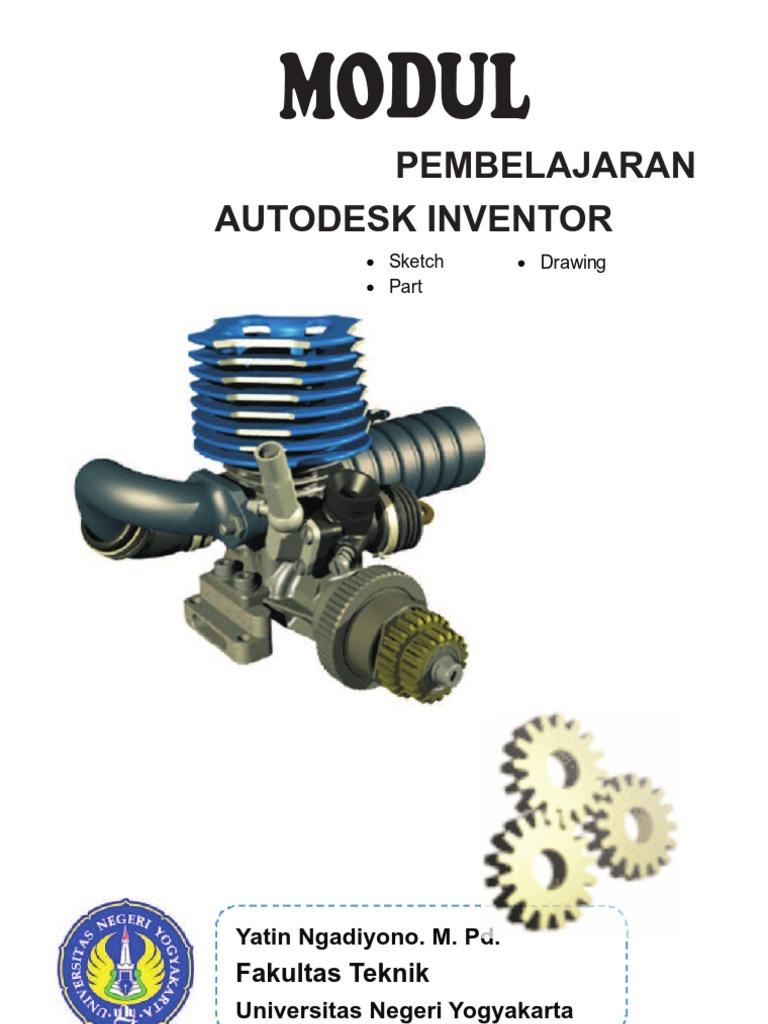 Download Kumpulan Sketsa Gambar Teknik Inventor