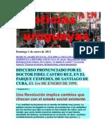 Noticias Uruguayas Domingo 1 de Enero de 2012